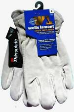 Wells Lamont Mens Cold Weather Cowhire Work Gloves 1072L Large