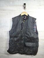 vtg Westmorland Barbour Medium olive wax Gillet Original Jacket coat RefRACKA
