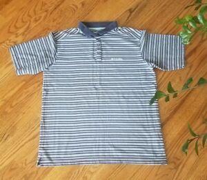 Columbia Omni-Wick Fishing Hiking Outdoors Short Sleeve Polo Shirt Mens Size XL