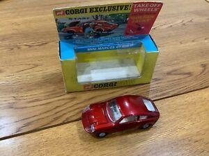 Corgi Toys 341 Mini Marcos GT 850 Boxed