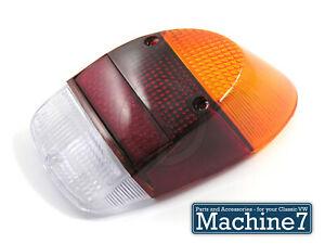 Classic VW Beetle Rear Light Indicator Lens Tombstone Bug 1300 1500 1968-73 EACH