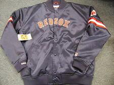 MITCHELL NESS MLB THROWBACK BOSTON RED SOX SATIN JACKET SIZE 2XL