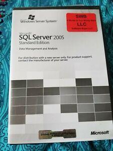 Microsoft Windows SQL Server 2005 Standard 5 CAL