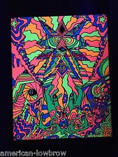 In My Room Psychedelic Art Blacklight Poster Pot Weed Marijuana LSD