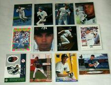 Derek Jeter Baseball Cards with Rookies Lot of 12