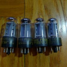 4 quad Matched FISHER 7591A Tubes ****** Strong and Matched ******