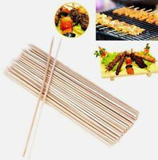 150pcs Bamboo Skewers Sticks For BBQ Kebab Fruit Wooden Sticks 12Inch (30CM)
