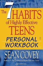 The 7 Habits of Highly Effective Teens Personal Workbook by Sean Covey