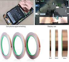 20M Tape Length Conductive Copper Foil Tape Self Adhesive EMI Shielding Tapes UK