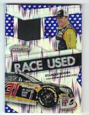 2016 Panini Prizm Racing Race Used Tire Blue Flag Prizm /49 #10 Ryan Newman