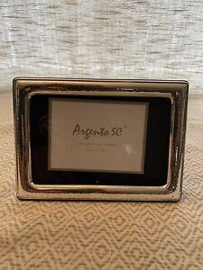 """Argento SC Sterling Silver Hammered 4"""" x 6"""" Frame"""