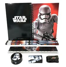 Star Wars Storm Trooper Stationary Set Back to School Supplies for Kids 8 Piece