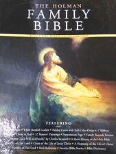 The Holman KJV Family Bible (2001, White Padded Bonded Leather, Gift, Deluxe)