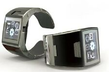 SWAP Incognito Sim Free Mobile Phone Watch Piano Black/Chrome RRP £169.00