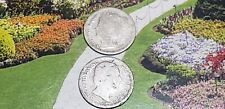 2- silver 10 cent coins from netherlands1898 & 188?