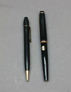 2 x Montblanc Luxus Füller No. 22 und Bleistift - Goldfeder