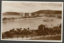 Postcard Isle of Man Ramsey view of The Lake in Mooragh Park RP by J Salmon