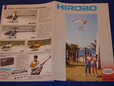 catalogue HIROBO scientific france HELICOPTERE paraplane SHUTTLE cobra BELL lama