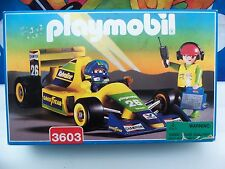Playmobill #3603 Race Car Rare Collectors Item Unopened Original Box.