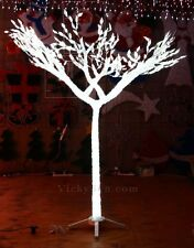 150CM 3D Acrylic White Tree with 900 White LED Lights Christmas Wedding Decor