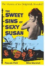 THE SWEET SINS OF SEXY SUSAN Movie POSTER 27x40 Teri Tordai Mike Marshall