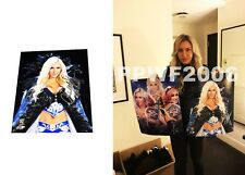 WWE CHARLOTTE FLAIR HAND SIGNED 8X10 AUTOGRAPHED PHOTOFILE PHOTO WITH PROOF 2