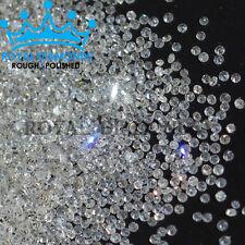 100% Natural Loose Round Single Cut 200 Diamonds FL-VVS D-H(White) Real Polished