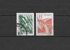 YOUGOSLAVIE - 1957 YT 742 a 743 - TIMBRES OBL. / USED - COTE 14,00 €