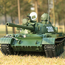 Hooben 1/16 RC Tank 2.4G Russian Heavy Tanks T55A Remote-Controlled Panzer KIT