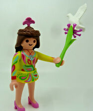 1373) PLAYMOBIL figurine en 5538 (Série 7 ) Flower Power Fille