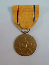 WWII American Defense Service Medal 1939 - 1941 Original Award Veteran's Estate