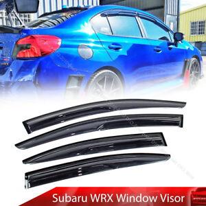2020 Fit For Subaru WRX STI 4th Side M Window Visor Sun Rain Deflector Sport