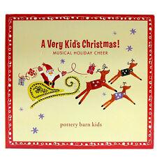 Pottery Barn Kids Holiday Christmas CD A Very Kids Christmas Musical Holiday