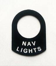 NAV LIGHTS Classic BOAT CABIN Mast light lucas switch tag