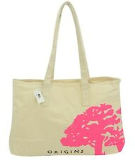 Origins Tote Bag Purse Market Pink Canvas Cotton
