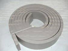 """High Temp Silicone Rubber Sheet Strip 1/2"""" Thick x 2"""" wide Sold by the Foot"""
