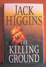 The Killing Ground by Jack Higgins 2008 HCDC suspence terrorism revenge VG cond