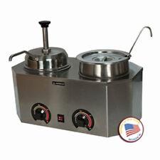Nacho Cheese Dispenser Warmer Paragon 2029E Hot Fudge Caramel Soup Chili Sauce