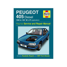 Peugeot 405 Haynes Manual 1988-97 1.8 1.9 Diesel Workshop