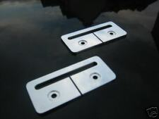 MGTF / MGF MG TF ALLOY SEAT BELT HOLDERS GUIDES *RARE* !