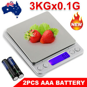 3kg/0.1g Digital Scales Pocket Mini Kitchen Food Cooking Electric Jewelry Scales