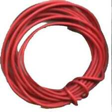 10' Red Hook Up Wire 18 gauge stranded for American Flyer Trains
