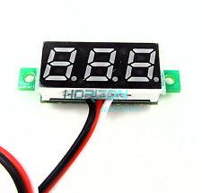 """2PCS 0.28"""" LED DC  0-100V Digital Voltmeter Panel Meter Blue COLOR"""