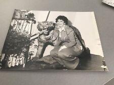 MICHELINE LUCCIONI - PHOTO DE PRESSE ORIGINALE 18x24