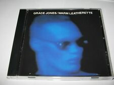 WARM LEATHERETTE by GRACE JONES (1980) Rare Original Island Records CD - 8 songs