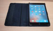 APPLE iPAD MINI 1ST GEN 16GB WiFi 7.9IN BLACK/SLATE LEATHER COVER - GOOD BATTERY