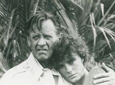 JACQUELINE BISSET WILLIAM HOLDEN WHEN TIME RAN OUT THREE 1980 PHOTO ORIGINAL