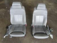 2003 BMW 745i Front Seat Pair Set Leather Power Electric Headrest Heated OEM