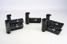 Lot of 5 Olympus OM System Winders 1 and 2 for PARTS OR REPAIR V17