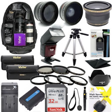 "SONY ALPHA A6000 FULL HD 32GB KIT LENSES-FLASH-BACKPACK-60"" TRIPOD-FILTERS-MACRO"